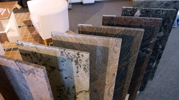 Granit Musterplatten