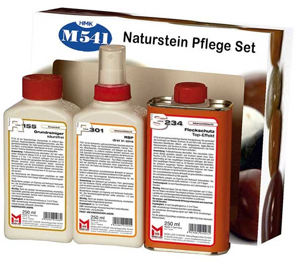 HMK® M541 Naturstein - Pflegeset