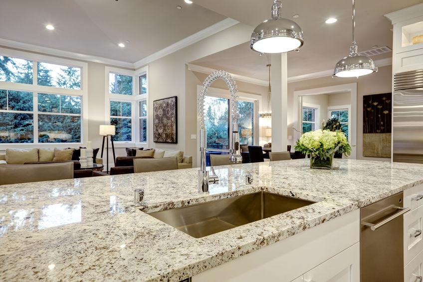 Wie pflege ich meine Granit Arbeitsplatte? | Natursteinpflege24
