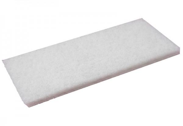 Nylonfaserpad weiß 24 x 12