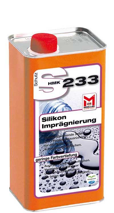 hmk s233 silikon stein impr gnierung mit langzeitwirkung. Black Bedroom Furniture Sets. Home Design Ideas