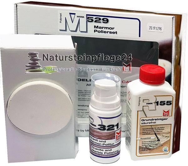 HMK® M529 Marmor - Polierset mit Dosierspender