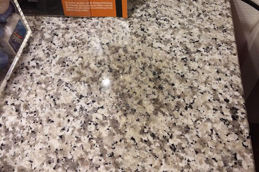 Turbo Wirksame Vermeidung von Flecken auf Granit Küchenarbeitsplatten IM05