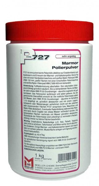 HMK® P727 Marmor - Polierpulver