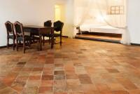 Bodenbelag  Terrakotta