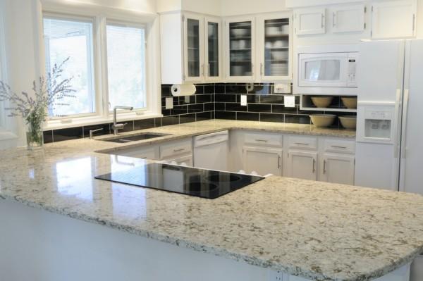 Küchenarbeitsplatten aus Granit - Reinigen, Schützen & Pflegen ... | {Küchenarbeitsplatte stein 22}